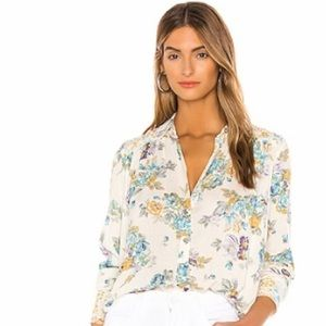 Free People Hold On To Me Floral Top size XS